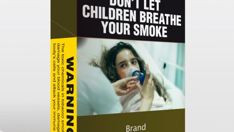 Plain packaging.