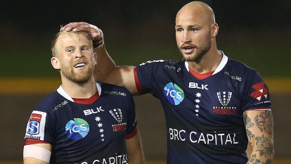 Rebels breathe life into Super Rugby AU with big win over Brumbies