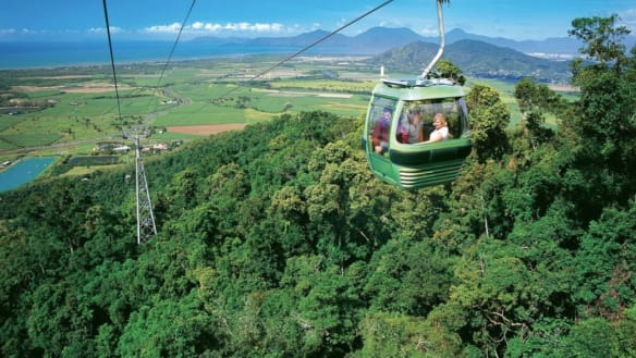 Gold Coast to copy Kuranda in new cable-car bid to hinterland