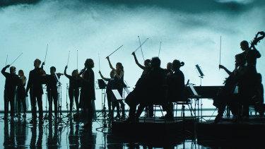 The Australian Chamber Orchestra in performance film Tabula Rasa.