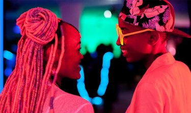A scene from Rafiki.