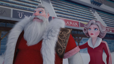 Santa is little more than a figurehead.