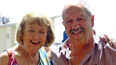 Maureen and Charles Verga.