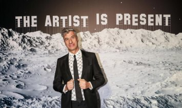 """Italian artist Maurizio Cattelan has previously said: """"Whatever you eat, a $200 lunch or a $2 hot dog, the results are the same, toilet-wise."""""""