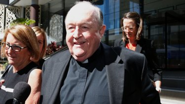 The former archbishop of Adelaide Philip Wilson is now a free man.