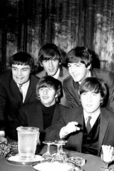 The Beatles at their Melbourne press conference, Southern Cross Hotel.