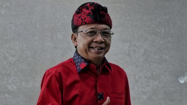 Bali Governor Wayan Koster.
