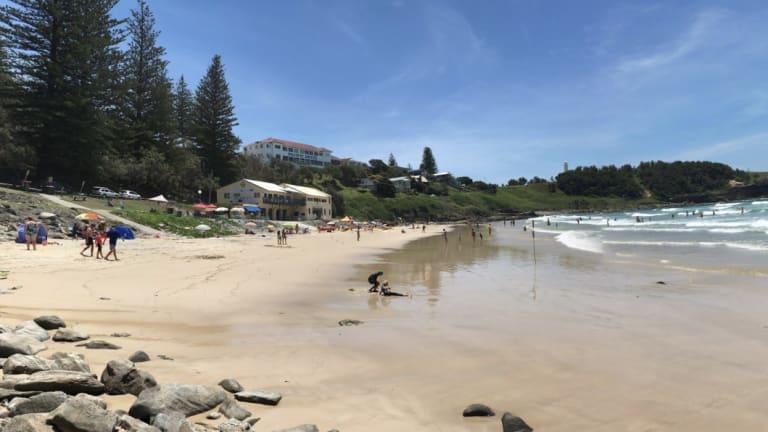 Main Beach at Yamba.