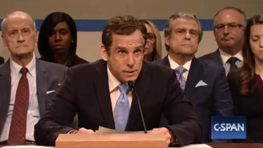 Ben Stiller as Michael Cohen on SNL.