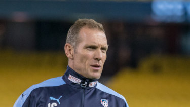 Architect: Sydney FC could lose star goalkeeping coach John Crawley.