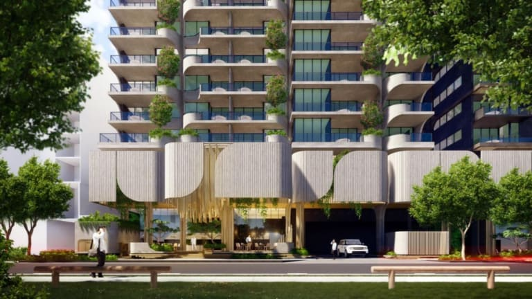 Aria Property Group has proposed a mixed-use development for Jane Street in West End.
