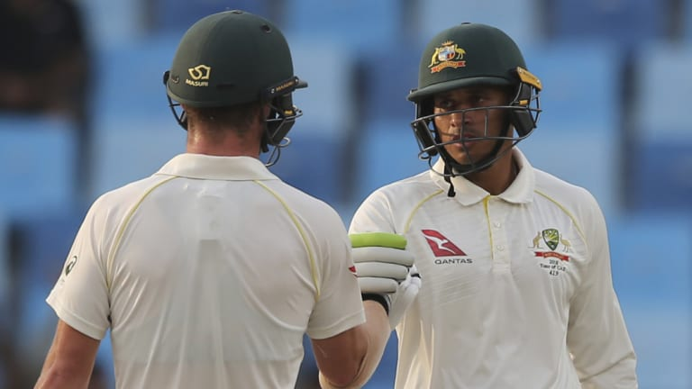 Travis Head and Usman Khawaja provided strong resistance on the final day of the first Test.