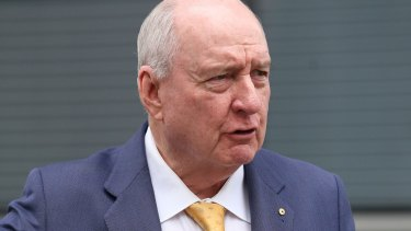 2GB presenter Alan Jones also hosts a program on Sky News and writes a column for The Australian.