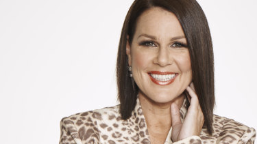 Julia Morris stars in three Network Ten shows: Blind Date, Sunday Night Takeaway and I'm a Celebrity... Get Me Out of Here!