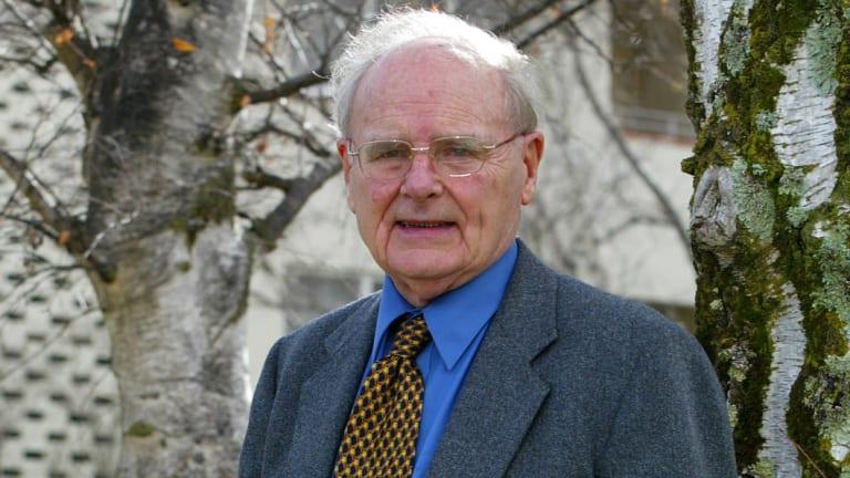 Author, priest and historian John Molony.