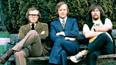 Graeme Garden, Tim Brooke-Taylor and Bill Oddie.