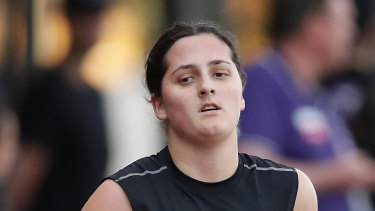 Lucy McEvoy is expected to be one of the early picks in Tuesday's AFLW draft.
