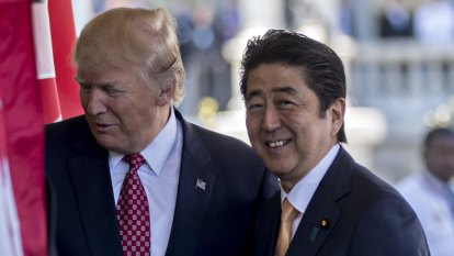 Japan PM mum on reports he nominated Trump for Nobel Peace Prize