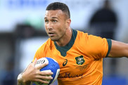 Quade Cooper is out of the Wallabies' European tour.