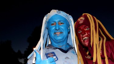 About 40,000 fans will be allowed to watch State of Origin games in NSW and Queensland.
