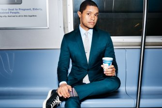 The Daily Show, hosted by comedian Trevor Noah, will screen on Network 10's new multichannel 10 Shake.