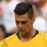 Australia's lack of a potent striker its undoing once again
