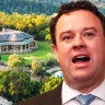 Questions raised over links between Stuart Ayres and $27m Sydney estate