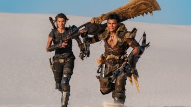 Milla Jovovich and Tony Jaa star in the video game adaptation Monster Hunter.