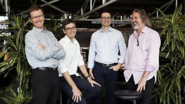 m3architecture directors (L-R): Michael Christensen, Michael Banney, Ben Vielle and Michael Lavery.