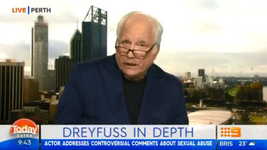 Richard Dreyfuss hits out at The Project.