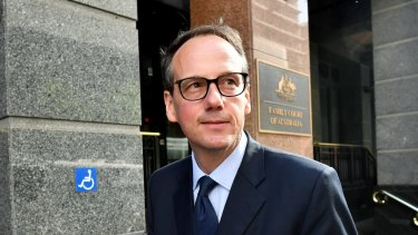 ASIC chairman James Shipton.
