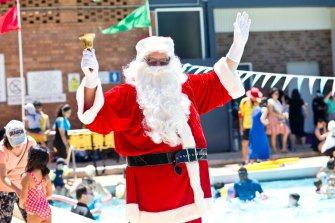 Santa will make a guest appearance in Epping at this Christmas pool party.
