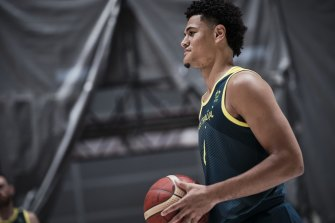 Boomers guard Josh Green is savouring his first Olympics for Australia.