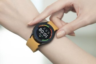 Samsung's Galaxy Watch4 is powered by Google's WearOS.