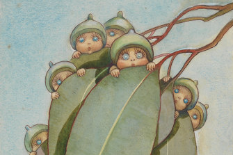"""""""I think you can influence children through books."""" May Gibb's gumnut-babies."""