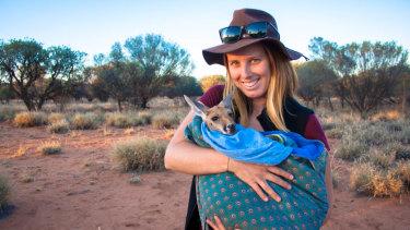 Wildlife ecologist  Caitlin Weatherstone