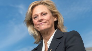 Former Hockeyroo: Danni Roche, who challenged John Coates for the AOC presidency.