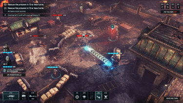 Gears Tactics brings an overhead perspective to familiar cover-based gameplay.