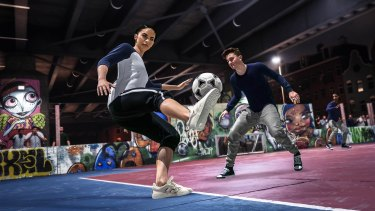 Volta brings some a much-needed change to the standard FIFA football.