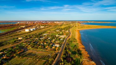 Port Hedland, where service workers once earned bankers' salaries.