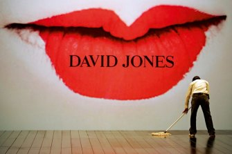 David Jones is accelerating its plans to shut down stores.