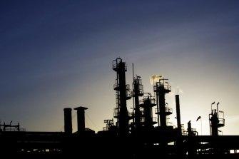 The ExxonMobil refinery in Altona.
