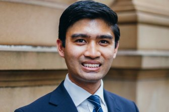 NSW Young Liberal president Chaneg Torres.