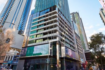 The Age has been told the company leased multiple apartments in the Victoria One tower,