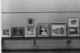 Some of the artists whose work was on display at the AGNSW: (l-r) Maurice Utrillo, unknown, Georges Rouault (top), Paul Gauguin (bottom), Charles Camoin (the fake Gauguin), Paul Cezanne, Kees Van Dongen (top), Andre Derain (bottom).