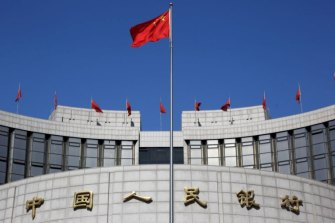 The People's Bank of China didn't intervene to stop the depreciation of the renminbi.