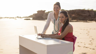 Adele and Cara Peek are involved in growing indigenous businesses in Broome and surrounds.