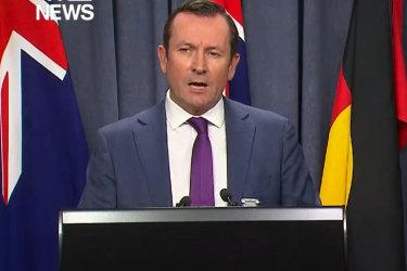 WA Premier Mark McGowan calls border threat 'ridiculous'.