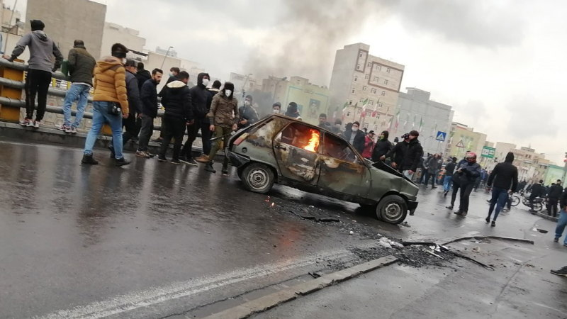 Hundreds of Iranian protesters shot dead in worst unrest for 40 years