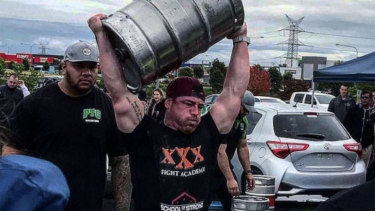 Brad Soper was named  Asia's Strongest Man in the under 90kg in 2017.